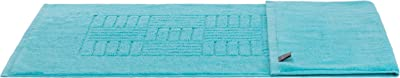 Brandsseller Schiesser - Alfombrilla de baño (50 x 80 cm, 780 g/m², 100% algodón), color turquesa