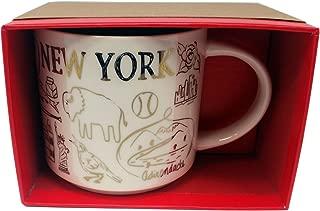 Starbucks Mug Been There New York State Holiday 2018 14 Oz