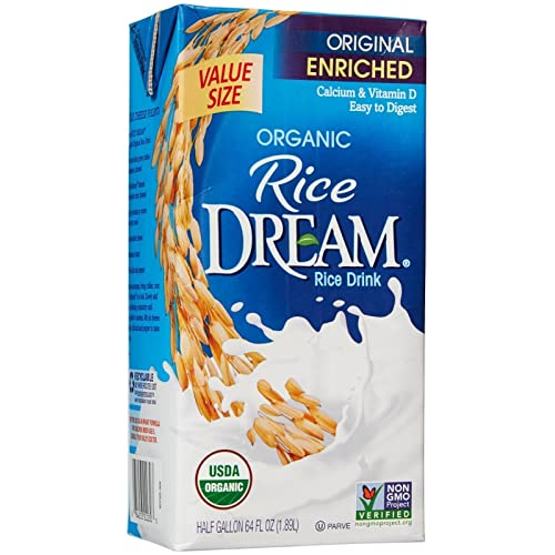 RICE DREAM Enriched Original Organic Rice Drink, 64 Fluid Ounce