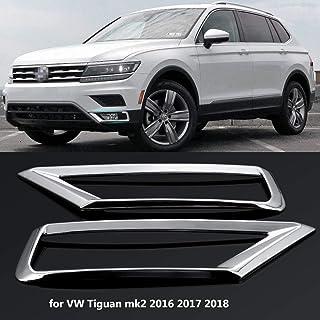 Sconosciuto per VW TIGUAN 2 2016 UP Acciaio Inox Cromato Paraurti Posteriore Protector Soglia Protezione AntiGraffio Coperchio Spazzolato