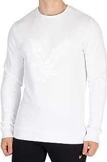 LYLE & SCOTT Men's Graphic Sweatshirt, White