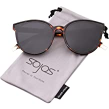 0ab837bd18 SOJOS Fashion Round Sunglasses for Women Men Oversized Vintage Shades SJ2057