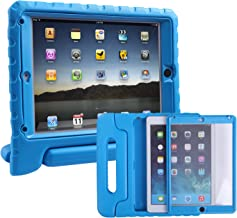 HDE Case for iPad Air - Kids Shockproof Bumper Hard Cover Handle Stand with Built in Screen Protector for Apple iPad Air 1...