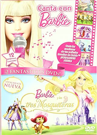Pack Canta Con Barbie Las 3 Mosquetera Dvd Amazon Es Varios Peliculas Y Tv