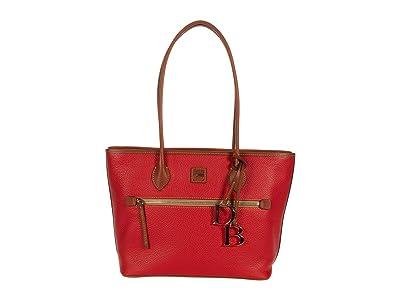 Dooney & Bourke Pebble Tote (Red) Handbags