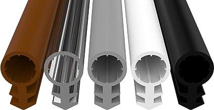 Premium siliconen afdichting, afdichting van hoogwaardige siliconen, 4,5 mm groefbreedte, 6,5 mm slang, 11,1 mm afdichting...