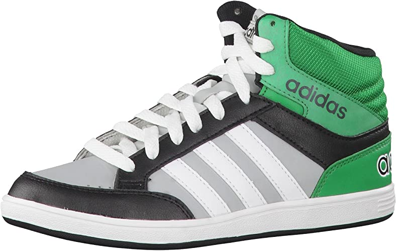 adidas Originals Hoops Mid K Chaussures Mode Sneakers Garcon ...
