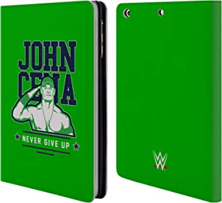 Official WWE John Cena Never Give Up 2 2018/19 Superstars 4 Leather Book Wallet Case Cover Compatible for iPad Mini 1 / Mini 2 / Mini 3