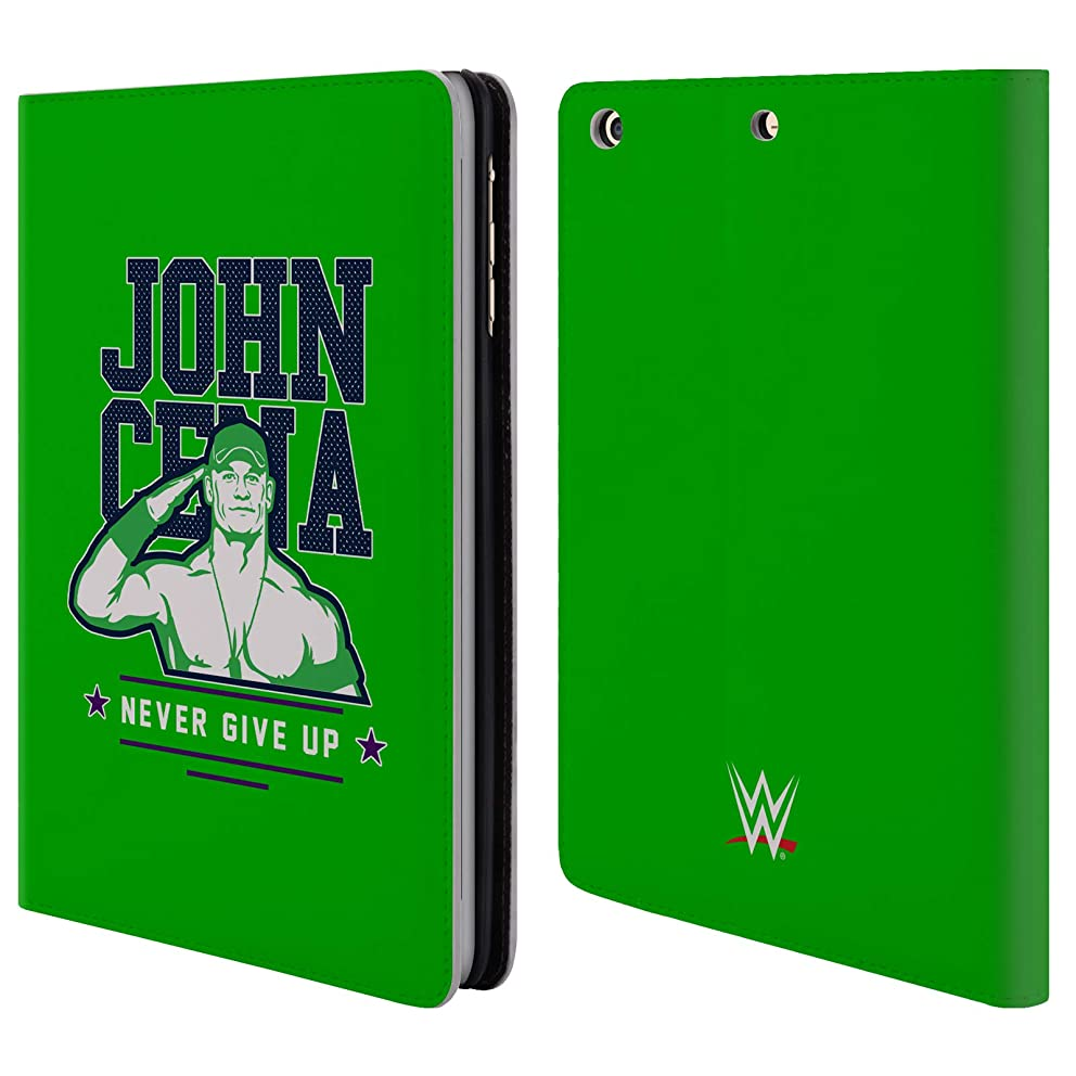 Official WWE John Cena Never Give Up 2 2018/19 Superstars 4 Leather Book Wallet Case Cover for iPad Mini 1 / Mini 2 / Mini 3