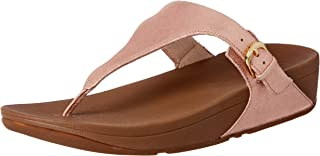 FitFlop Women's Casual Skinny Toe Post, Apple Blossom
