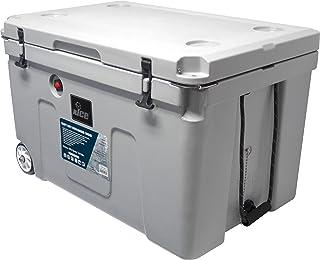 nICE CYY-514645 140L Premium Cooler with Wheels - Grey