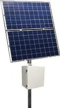 RemotePro 100W Cont Pwr Sol Sys, 650W Solar, 24V 100Ah 2400Wh Batt, 24V 40A MPPT TempComp Sol Ctrl/Status Disp/20A Ld Ctrl, 2-4