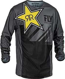 Fly Racing 2019.5 Kinetic Mesh Jersey - Rockstar (X-Large) (Grey/Black)