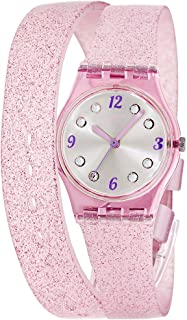 Swatch Women's Digital Quartz Watch with Silicone Bracelet - LP132