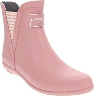 Womens Piccadilly Rain Boot Pale Pink 8 M US