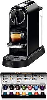 comprar comparacion Nespresso De'Longhi Citiz EN167.B - Cafetera monodosis de cápsulas Nespresso, compacta, 19 bares, apagado automático, colo...