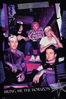 Bring Me The Horizon - Music Poster (Red Eye - Stairwell) (Size: 24 inches x 36 inches)