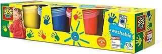 Ses - 00305 - Loisir Créatif - Peinture à Doigts - 4x150 ml