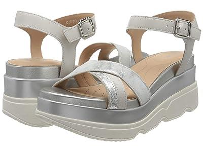 Geox Gardenia 2 (Silver/Light Grey) Women