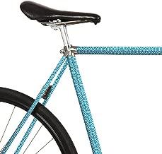 MOOXIBIKE Unisex– Adult's Fahrradfolie mit Muster für Rennrad Road Bike Sticker, Grey, 2 x 150 x 13 cm
