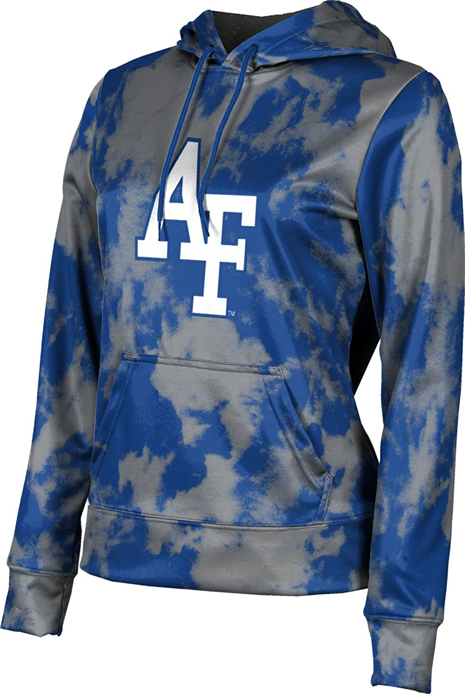 ProSphere U.S. Air Force Academy Girls' Pullover Hoodie, School Spirit Sweatshirt (Grunge)