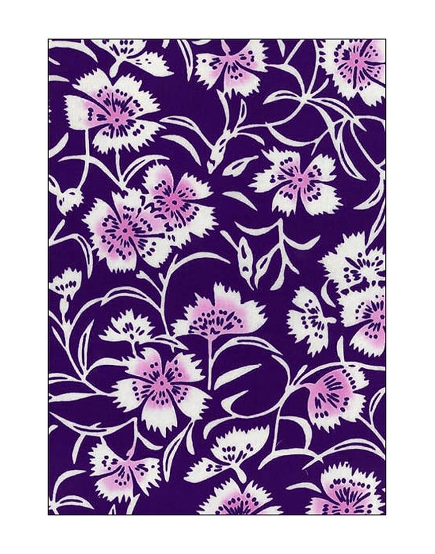部門独裁者発表[江戸てん]手ぬぐい 注染 梨園染 綿100% 日本製 撫子(紫)