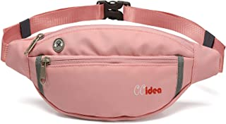 CCidea Fanny Pack for Women or Men, Waterproof Waist Bag for Travel Sports Running,Fashion Light Sport Fanny Packs, That F...