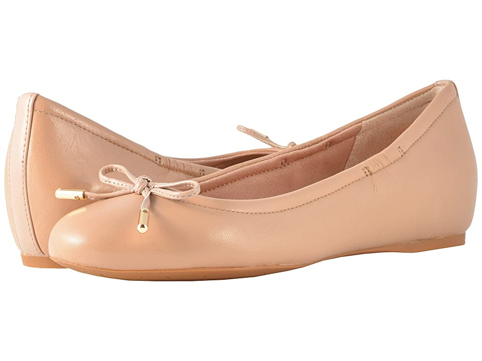 Rockport Total Motion Hidden Wedge Tied Ballet (Warm Taupe Nappa) Women