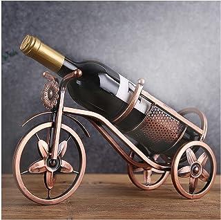 Support de Table Présentoirs de Bouteilles de vin, Stockage 1 Bouteille, Support de Bouteille de vin, vélo en Fer en métal...