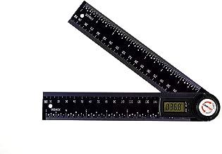 GemRed 82305 Digital Protractor Angle Finder (200mm Black)