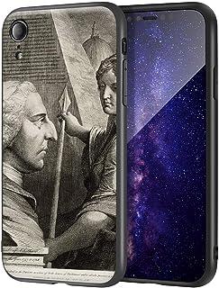 James Barry iPhone XR用ケース/ファインアート携帯電話ケース/高解像度ジクレーレベルUV複製プリント、携帯電話カバー(ウィリアムピットアールオブチャタム)