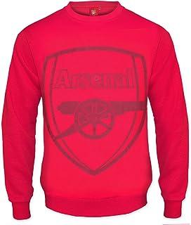 3e765069 Arsenal FC Official Football Gift Mens Crest Sweatshirt Top
