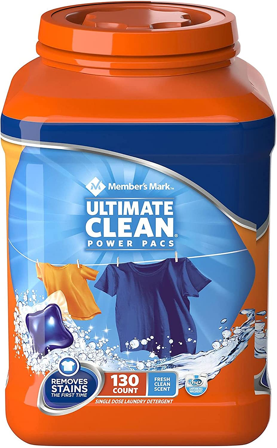 Member S Philadelphia Mall Mark Ultimate Clean Laundry L Pacs 130 Detergent Special Campaign Power