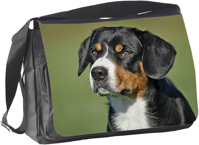 +++ APPENZELLER Sennenhund - COLLEGETASCHE Tasche Tasche Tasche UMHÄNGETASCHE Schultertasche - AZS 01 B00ZB9SWFA f52b78