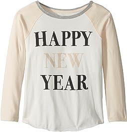 PEEK - Happy New Years Tee (Toddler/Little Kids/Big Kids)