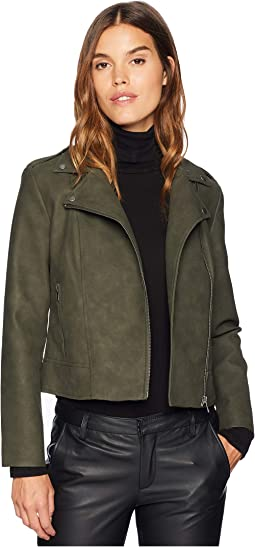 Easy Rider Faux Suede Moto Jacket