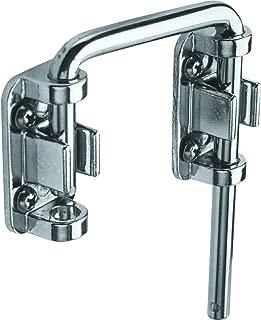 Defender Security S 4379 Chrome Plated Steel Sliding Door Loop Lock, 2-1/8