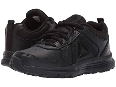 Reebok Kids Almotio 4.0 LTR (Little Kid/Big Kid) (Black) Kids Shoes