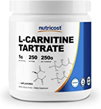 Sponsored Ad - Nutricost L-Carnitine Tartrate Powder (250 Grams) - 1 Gram per Serving, 250 Servings