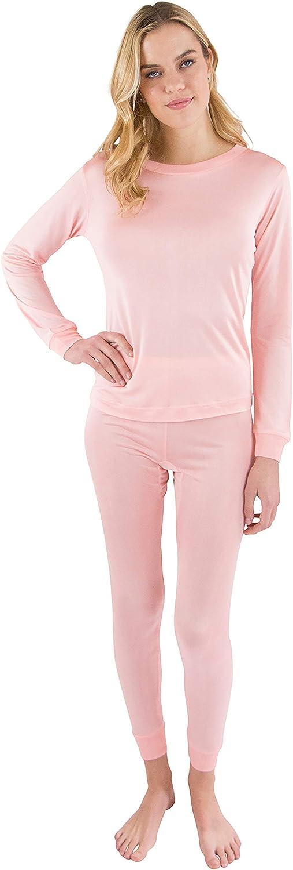 Intimo Women's Long John Pajama Set
