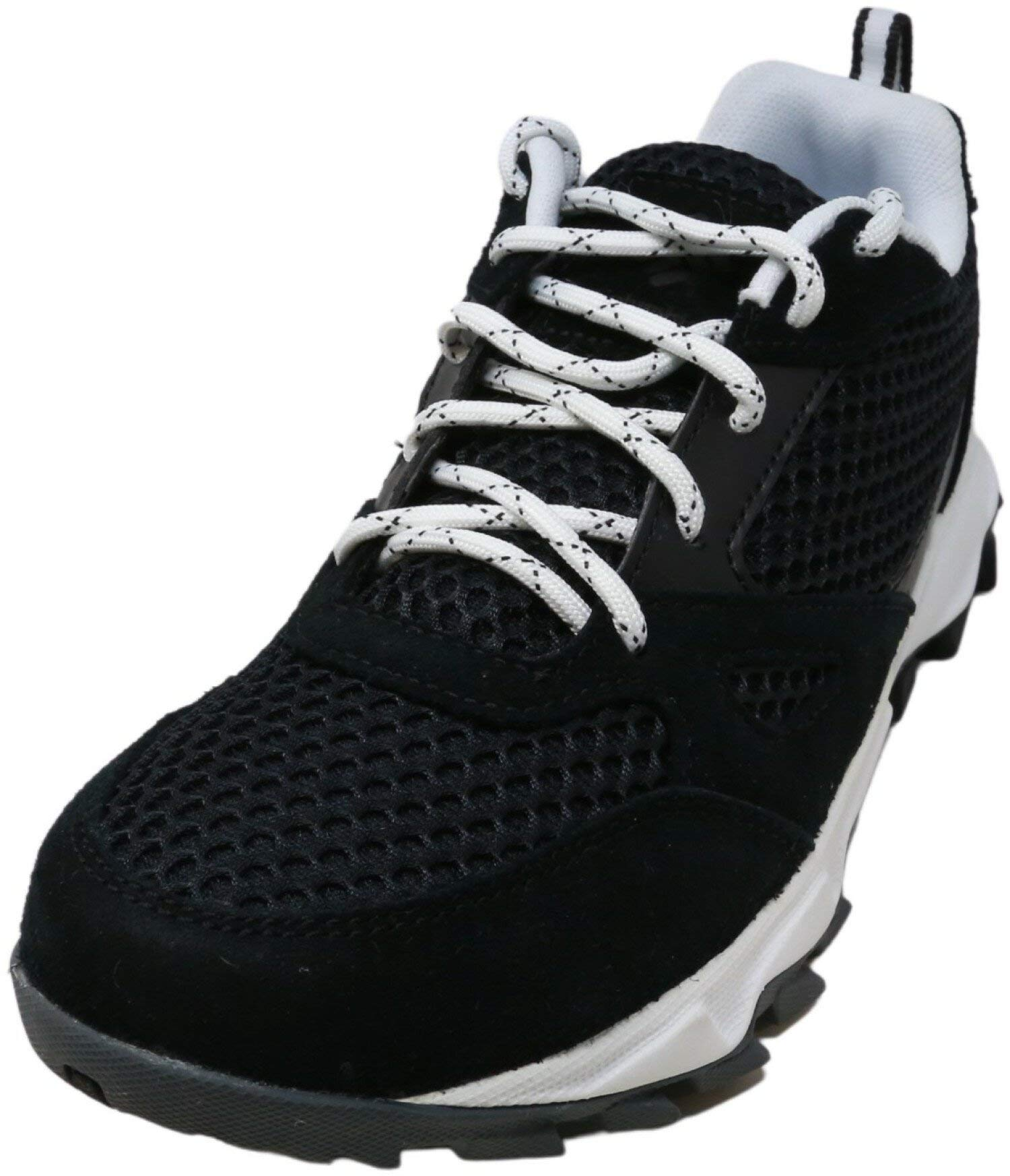 Columbia Damen IVO TRAIL BREEZE Sneaker, Schwarz, Weiß (Black, White), 4