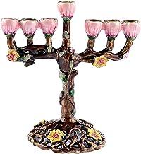 Hanukkah Star Menorah David Candelabra Candle Candlestick Holder Hand Paited Home Decoration Party Festival Candleholder (...