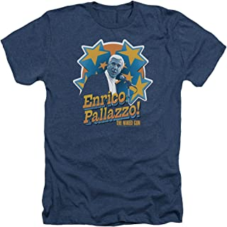 The Naked Gun Crime Comedy Movie Its Enrico Pallazzo Adult Heather T-Shirt Tee