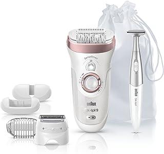 Braun Epilator for Women, Silk-epil 9 9-890 Hair Removal for Women, Bikini Trimmer, Womens Shaver...
