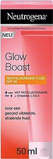 Neutrogena Glow Boost Revitalizing Fluid SPF30, revitaliserende moisturizer met UV-factor en Neoglucosamine® voor een gezo...