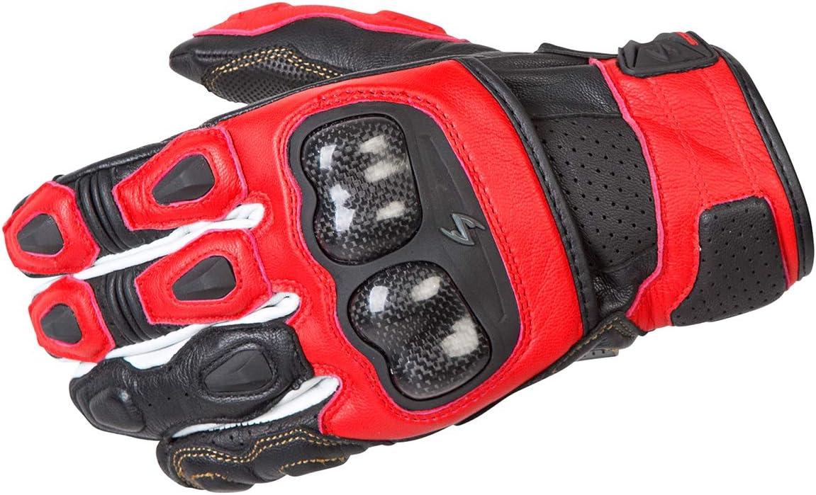 Scorpion EXO SGS MKII Men's Short Cuff Sport Gloves (Red, Medium)