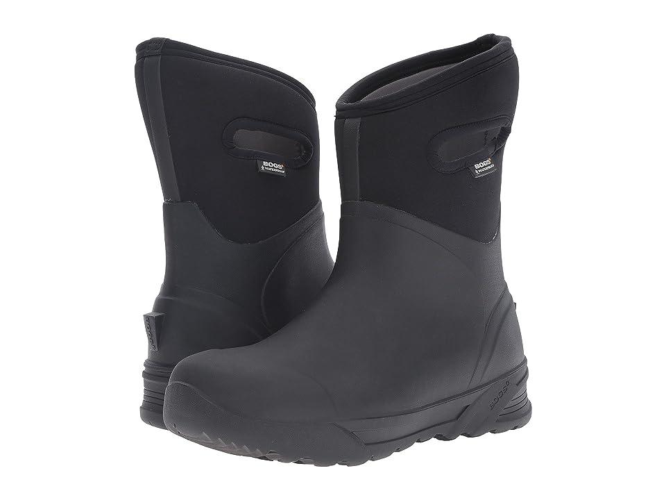 Bogs Bozeman Mid Boot (Black) Men