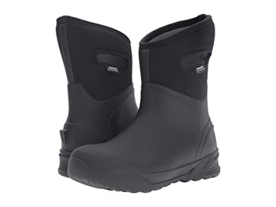 Bogs Bozeman Mid Boot (Black) Men