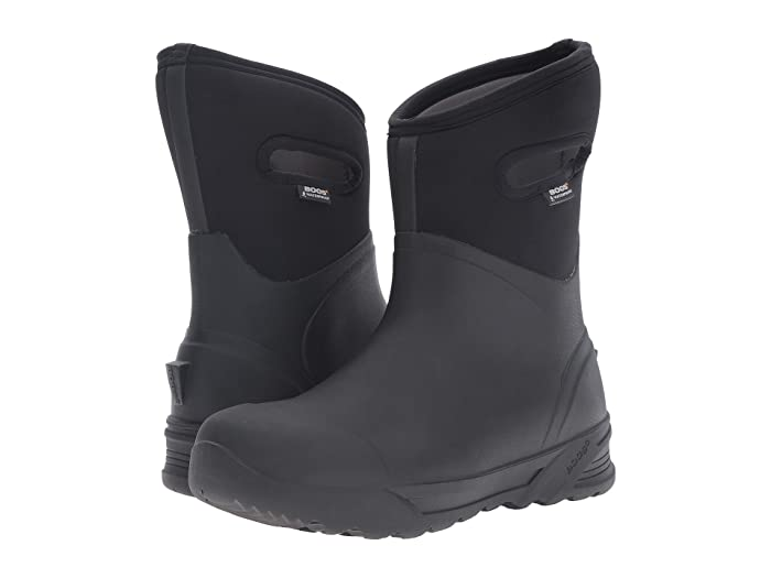 Bogs  Bozeman Mid Boot (Black) Mens Waterproof Boots