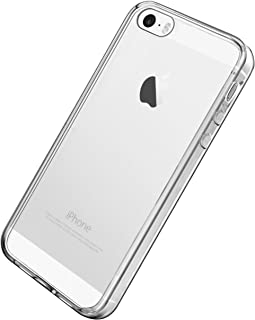 Ailun Phone Case Compatible with iPhone 5s iPhone Se iPhone 5 Shock Absorption Bumper TPU Clear Cover Crystal Clear